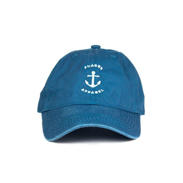 anchor_turquoise_vintage_dad_cap